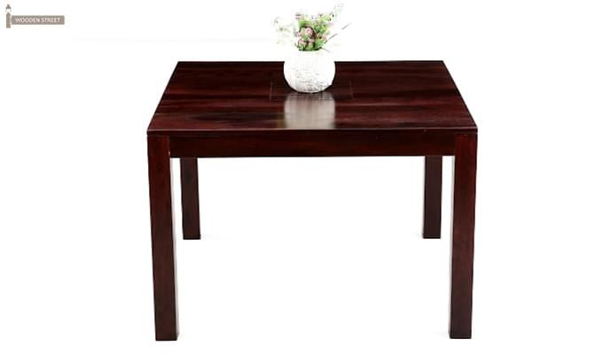 Tracy Dining Table In Teak Finish Is An Alluring Piece Of