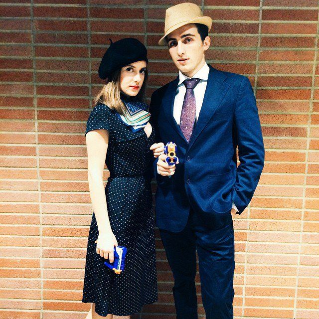 Pin for Later: 34 Vintage Halloween Costumes For the Ultimate Throwback Bonnie and Clyde