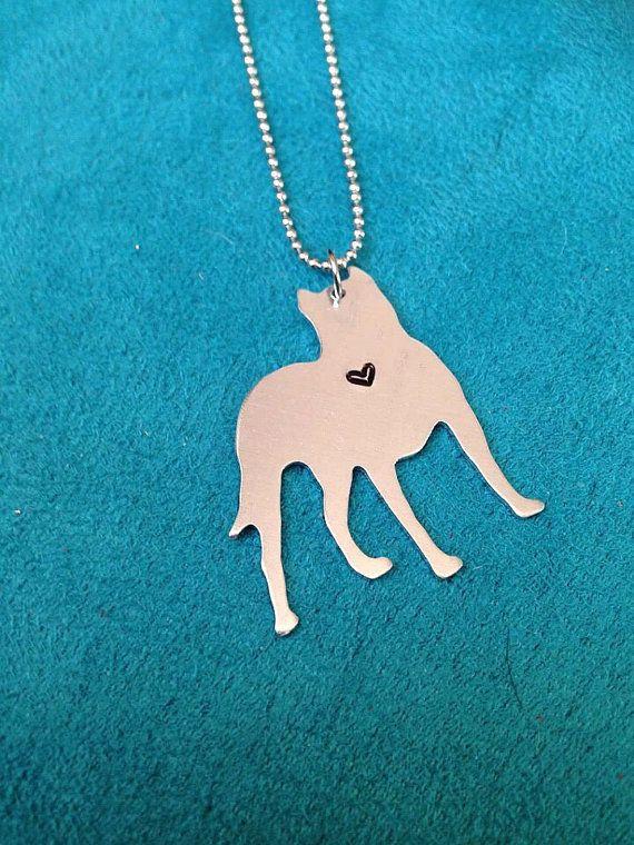 Pitbull jewelry-pitbull necklace-dog lover by JEMJewelryDesign