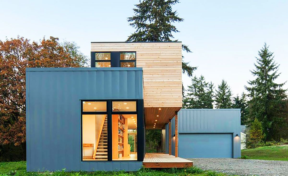 Best 25 prefab homes cost ideas on pinterest prefab for Cost effective building design