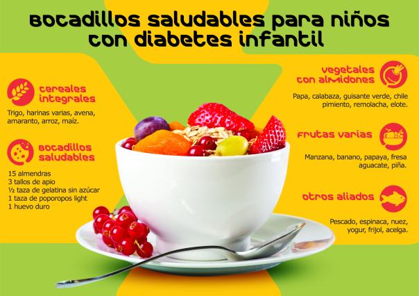 recetas vegetarianas para niños con diabetes