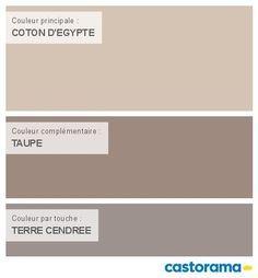 Castorama nuancier peinture mon harmonie peinture coton - Nuancier de couleur peinture ...