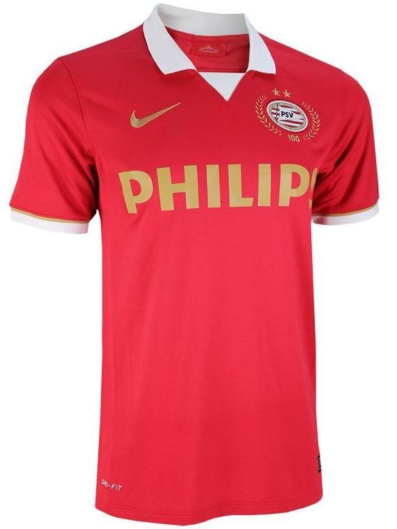 PSV-Home-Kit-13-14 jersey  soccer  official  football  equipamento  camiseta   kit 0de509de94c1e