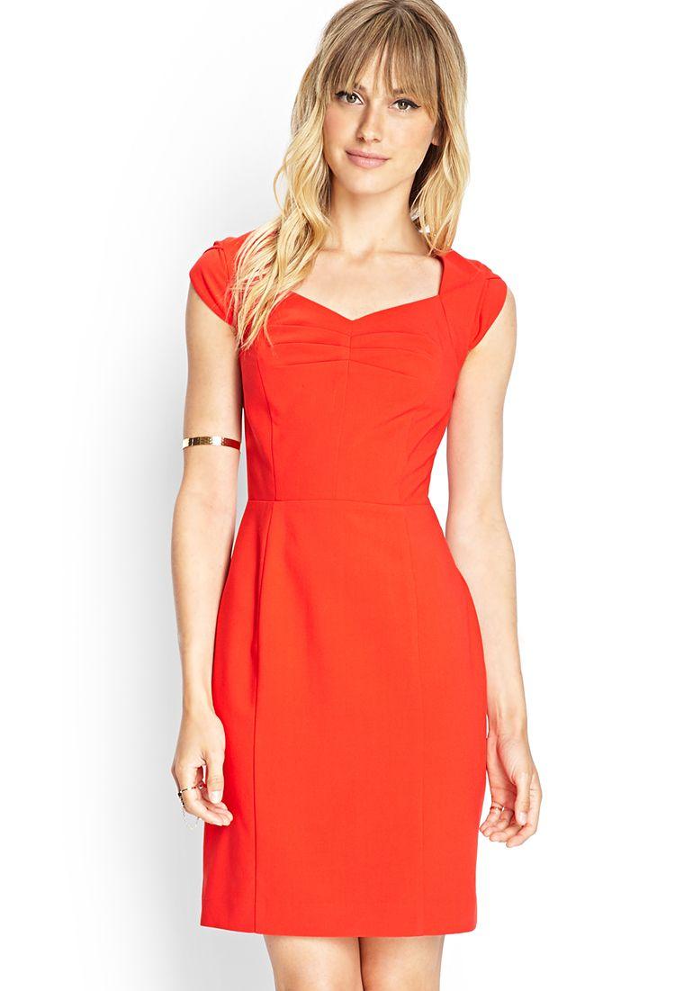 Cap sleeve shift dress forever fcontemporary dresses