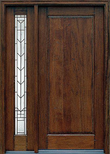 RUS SH 901 Main Door Corporation Rustic Mahogany Available At HD