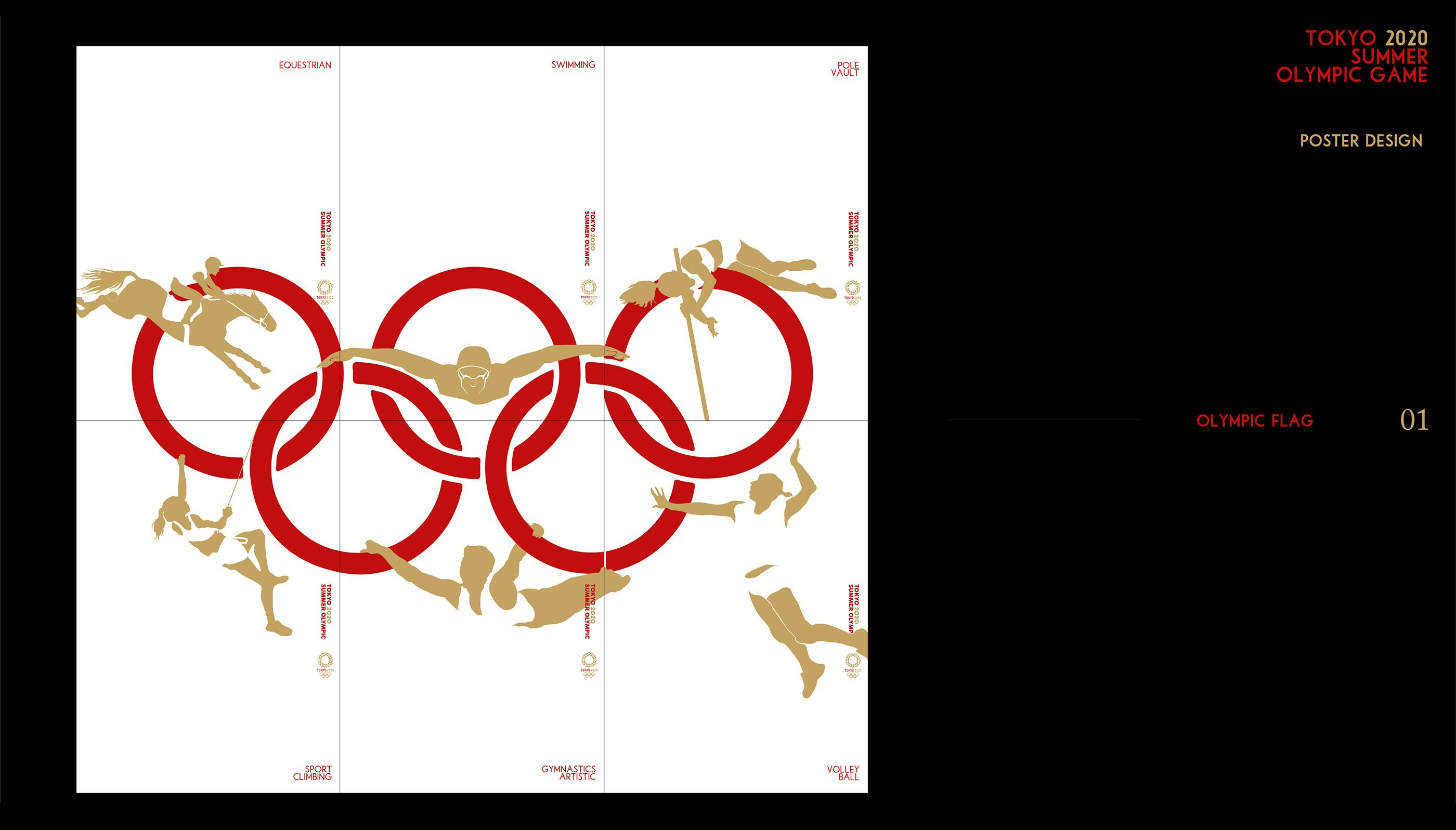 TOKYO 2020 SUMMER OLYMPIC GAME poster design on Behance