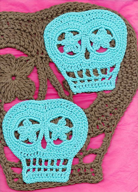 Ravelry Vera Revised Day Of The Dead Sugar Skull Pattern By Spider
