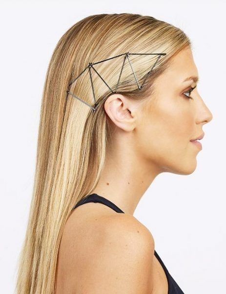 11 Unexpected And Gorgeous Ways To Wear Bobby Pins Sleek Hairstyles Slick Hairstyles Bobby Pin Hairstyles