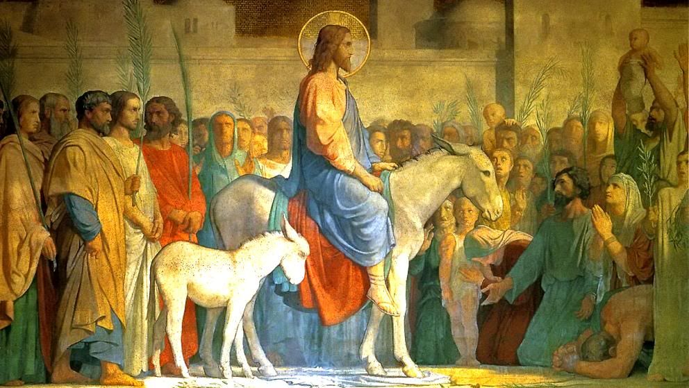 Image result for Palm sunday, art, pictures