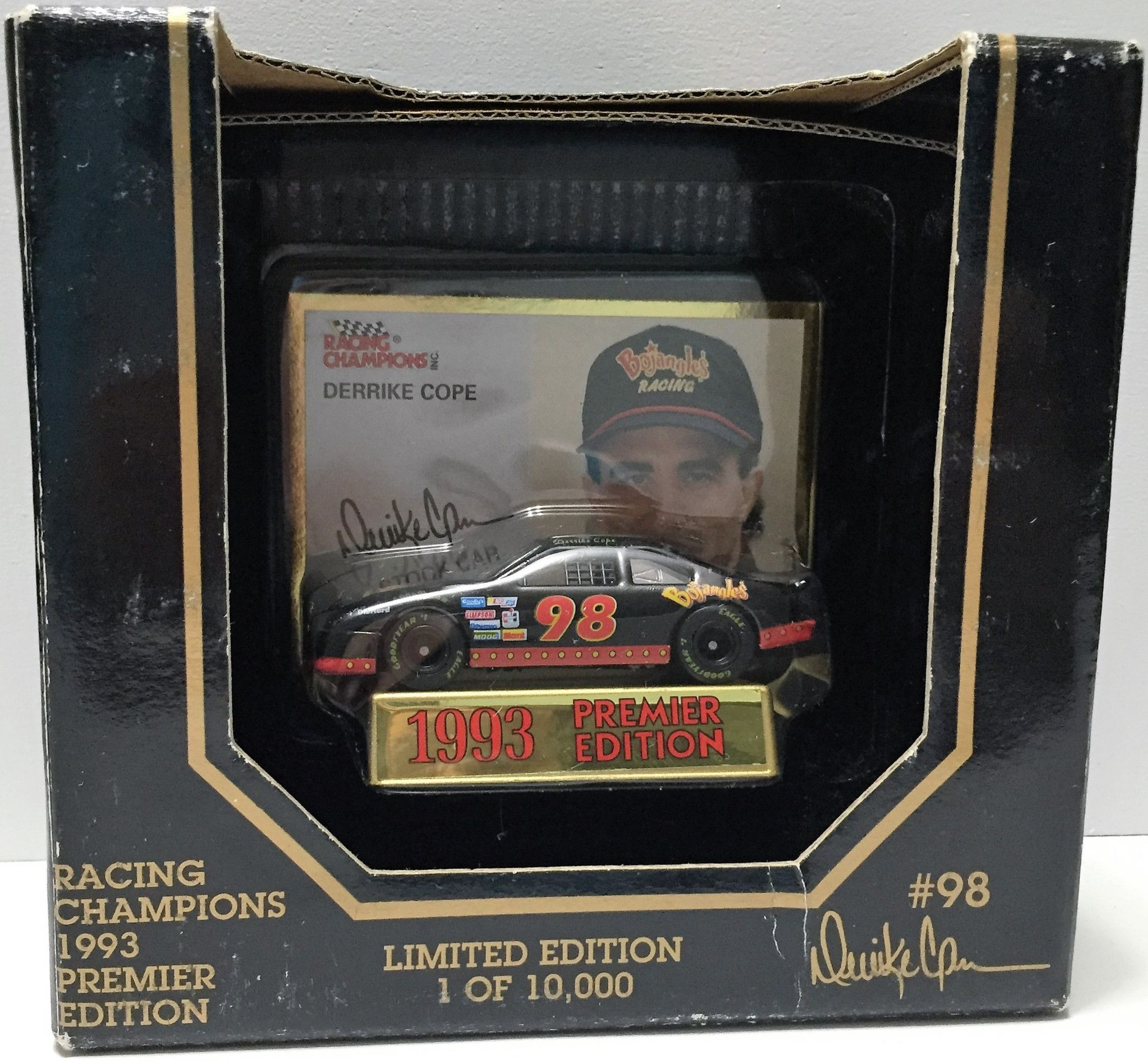 (TAS033688) - 1993 Racing Champions Premier Edition Car - Derrike Cope
