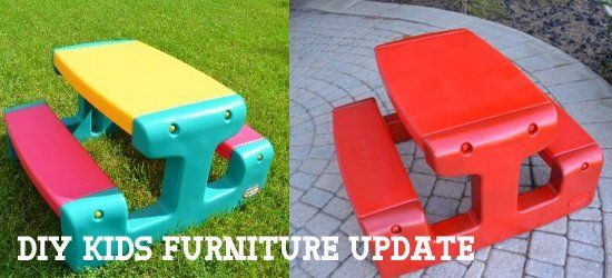 How To Paint Plastic Kids Furniture Projects To Try