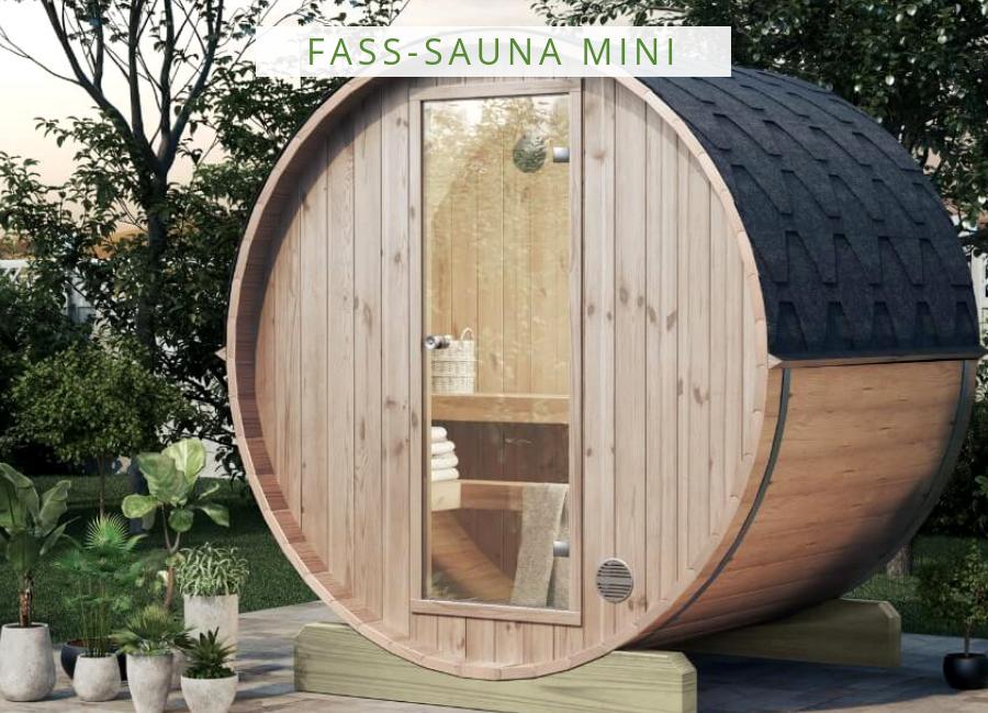 Finntherm Fass Sauna Mini 160 In 2019 Eine Sauna Für Den Garten