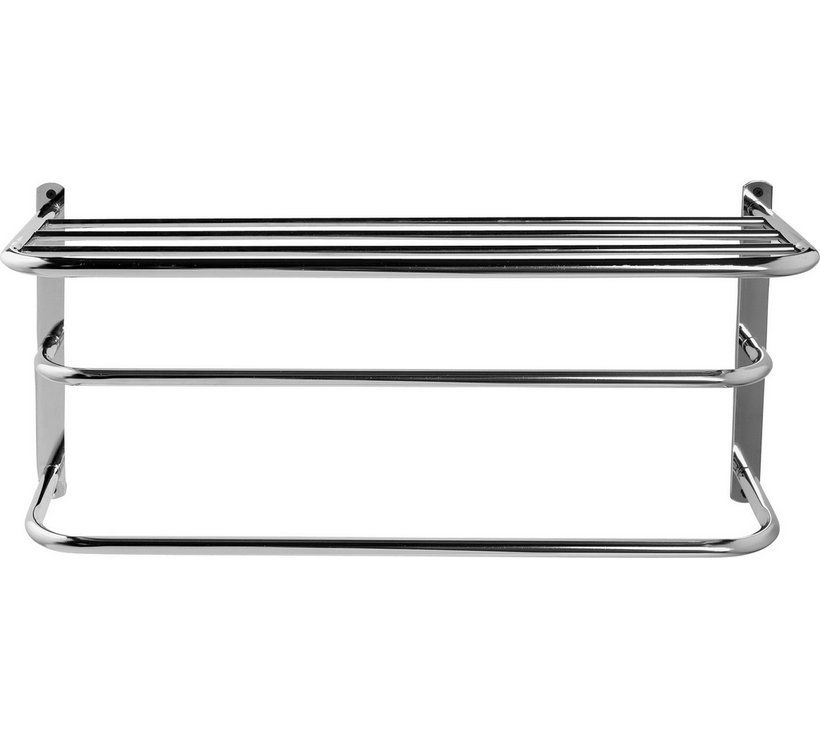 Buy Argos Home 2 Tier Wall Mountable Towel Rail with Shelf ...