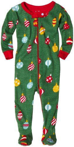 Christmas footed pajamas-why couldn't I have found these for big B???