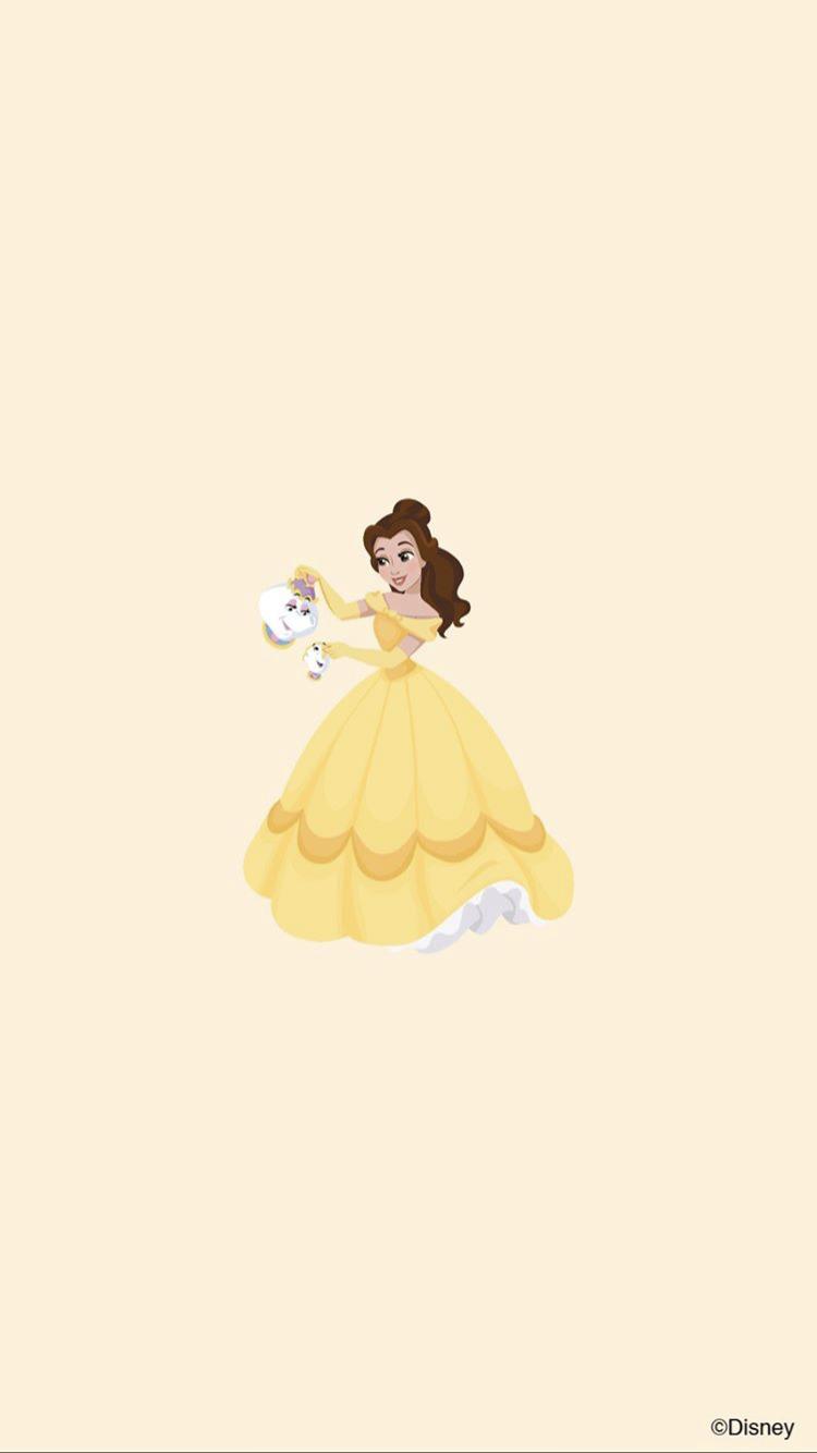 Belle Mrs Potts Wallpaper Disney Princess Disney Princess Wallpaper Disney Phone Wallpaper Disney Wallpaper