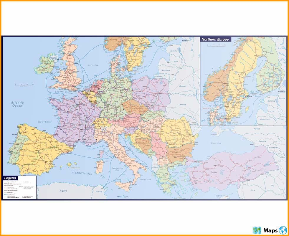Maps Of Europe Complete Colection Of Maps Of The World C In 2020 Europe Map Map World Map
