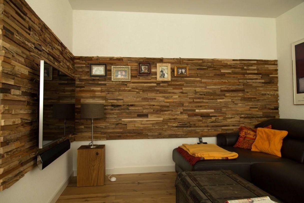 Wohnzimmer Holzwand ~ Attraktiv wohnzimmer holzwand wohnwand