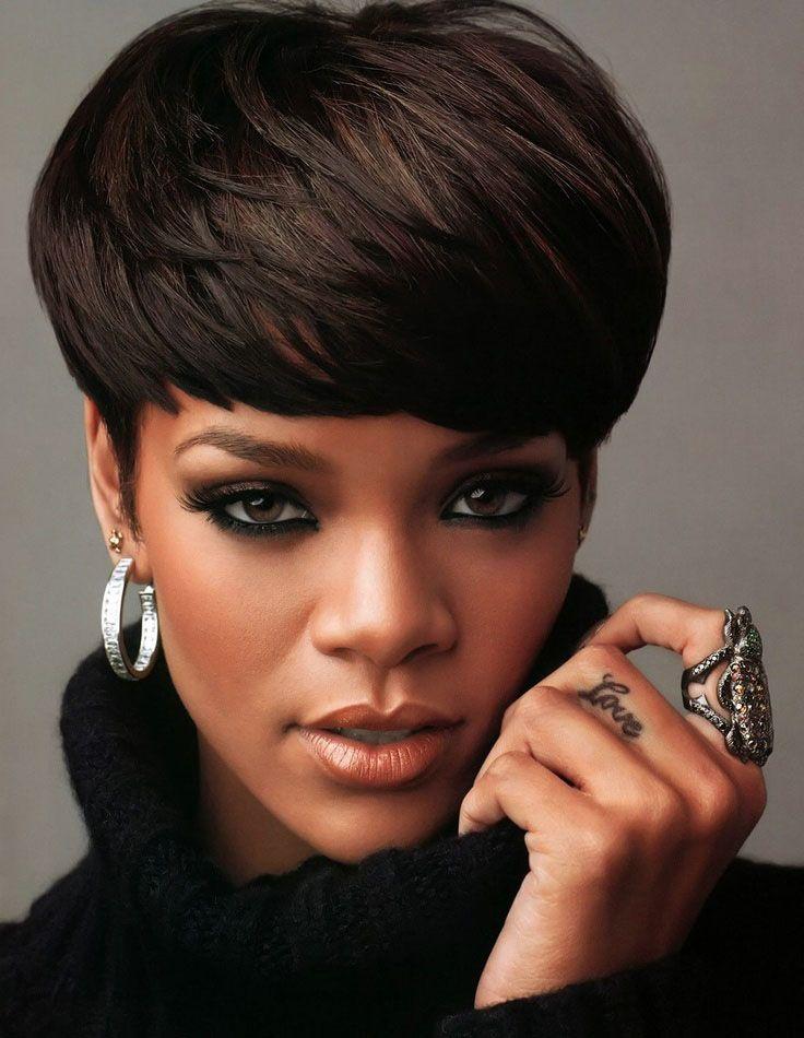Rihanna Rihanna Short Hair Short Hair Styles Rihanna Hairstyles