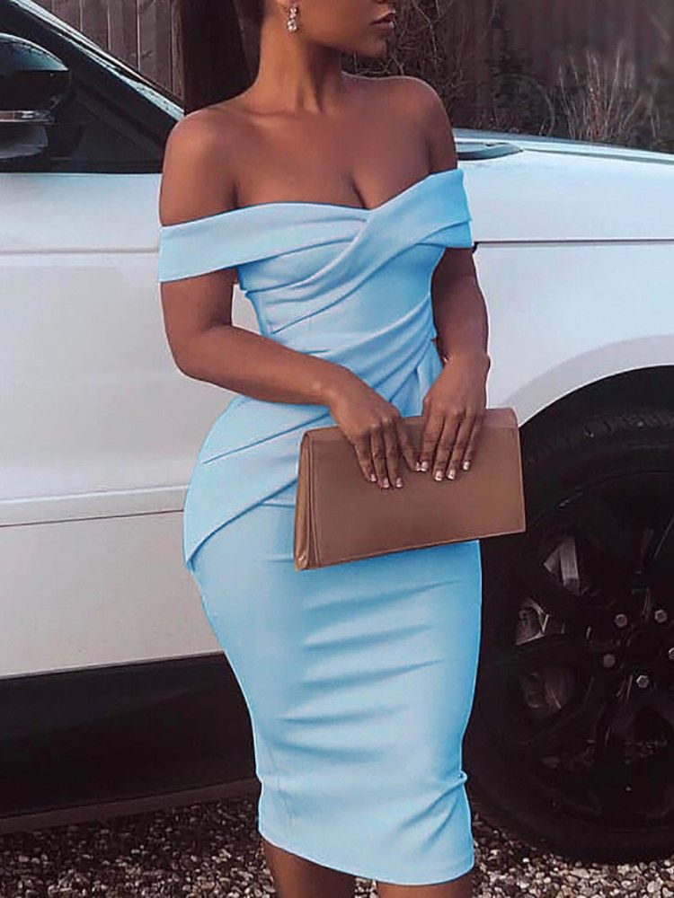 27++ Off the shoulder ruched dress ideas ideas in 2021
