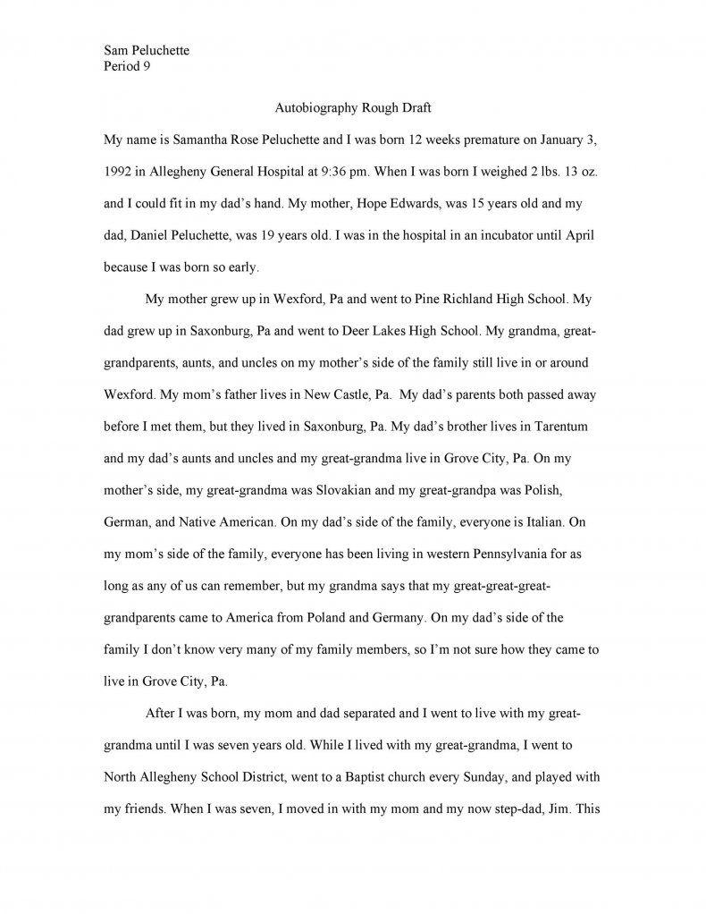 Download Autobiography Template 29 Writing Autobiographical Essay Topics Incident Topic Narrative Idea