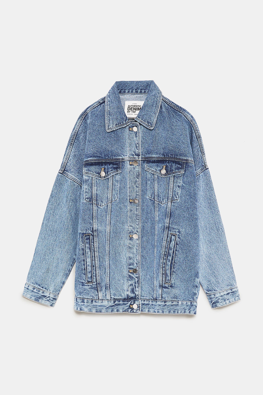 f1df9dc0 Image 8 of OVERSIZE DENIM JACKET from Zara | Fashion | Oversized ...
