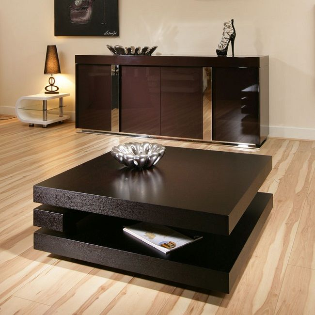 Black Brown Coffee Table Table Designs Plans