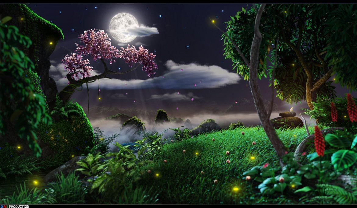 Nature At Night By Dart12001 Deviantart Com On Deviantart New Wallpaper Download Digital Photography Backgrounds Backgrounds Desktop