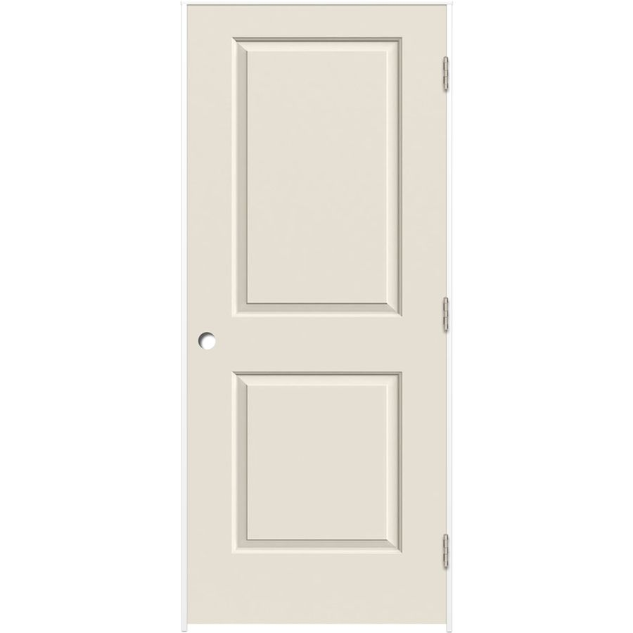 Reliabilt Prehung Hollow Core 2 Panel Square Interior Door Common 24 In X 80 Actual 25 375 81 312