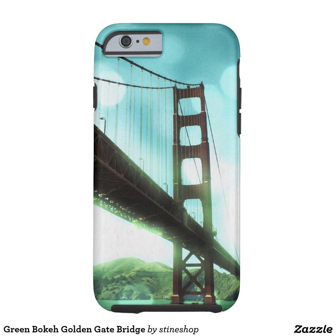 Green Bokeh Golden Gate Bridge Tough iPhone 6 Case