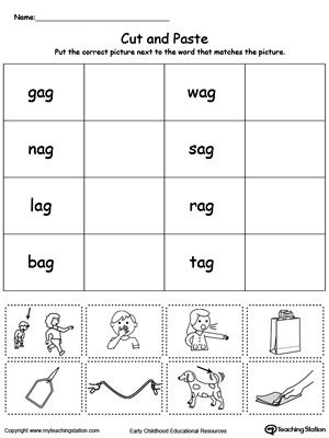 Match Word with Picture: AP Words | MyTeachingStation.com