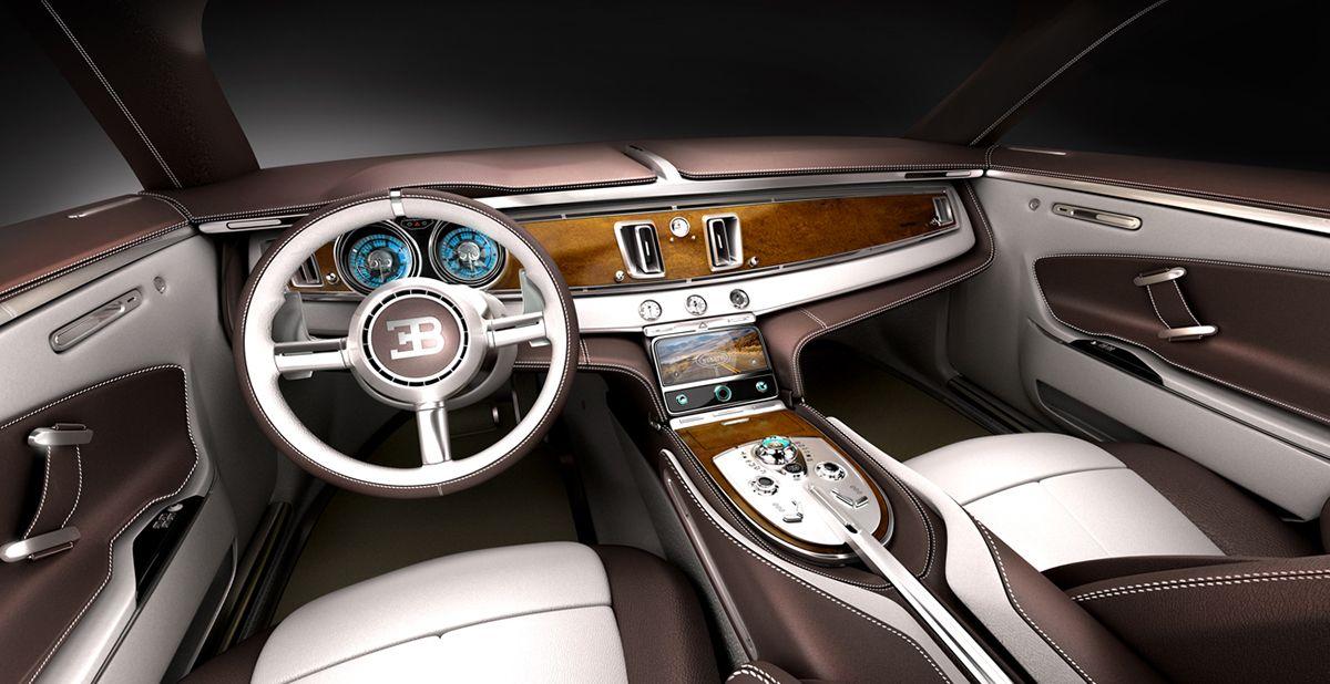 Bugatti SUV - 7th Term ACCD Project | car interior | Bugatti
