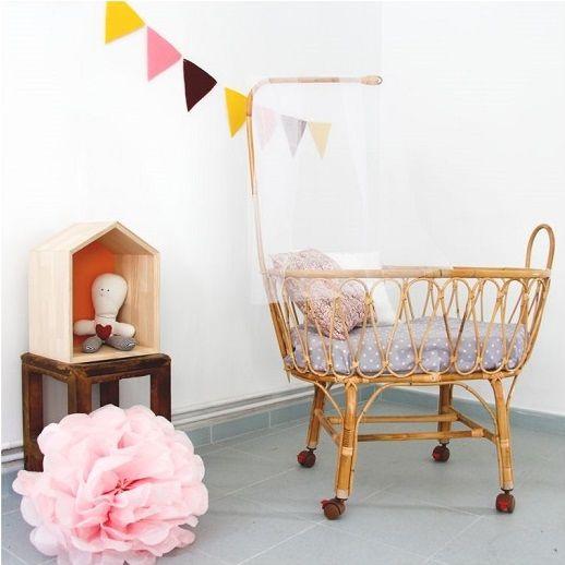 cunas vintage y moises mimbre o bambú de coccolihome http://www ... - Tiendas De Cunas Para Bebes