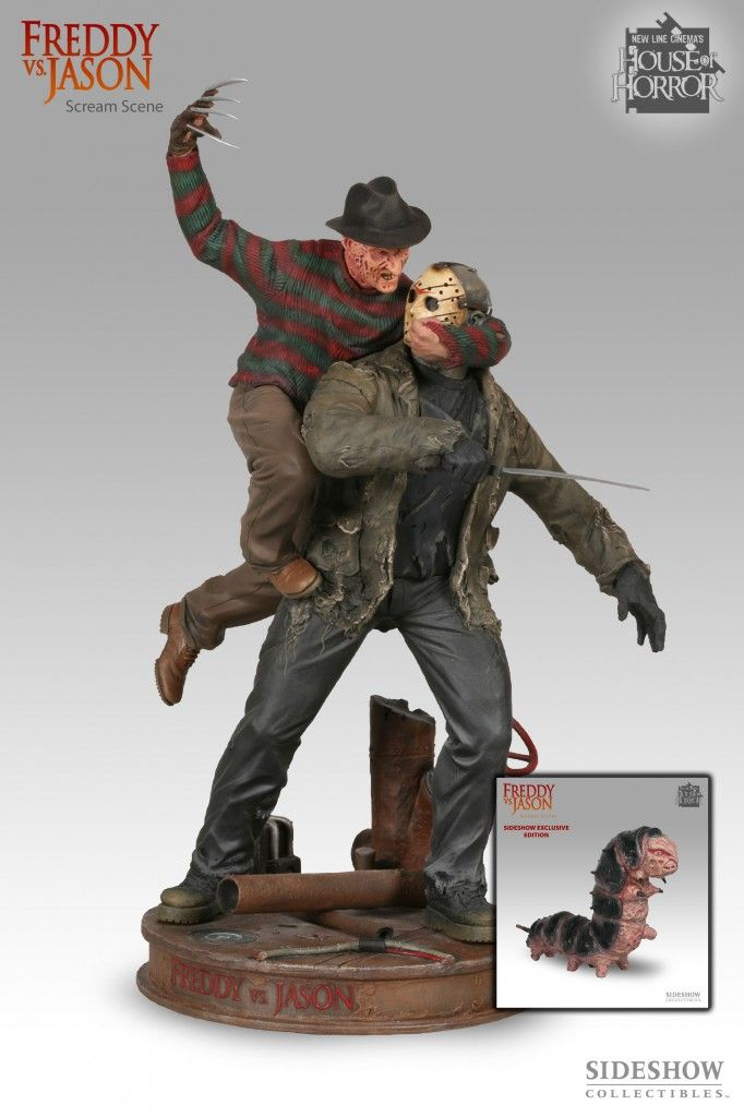 Freddy vs Jason Diorama   Collide   Pinterest   Sideshow ... 88433c2d51