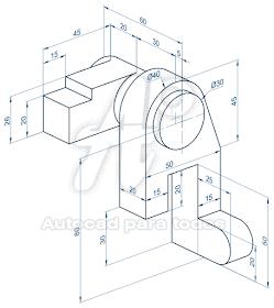 Autocad Para Todos 100 Practico Ejercicios Desarrollados Solidos 3d Autocad Dibujo Mecanico Como Dibujar En 3d Y Tecnicas De Dibujo