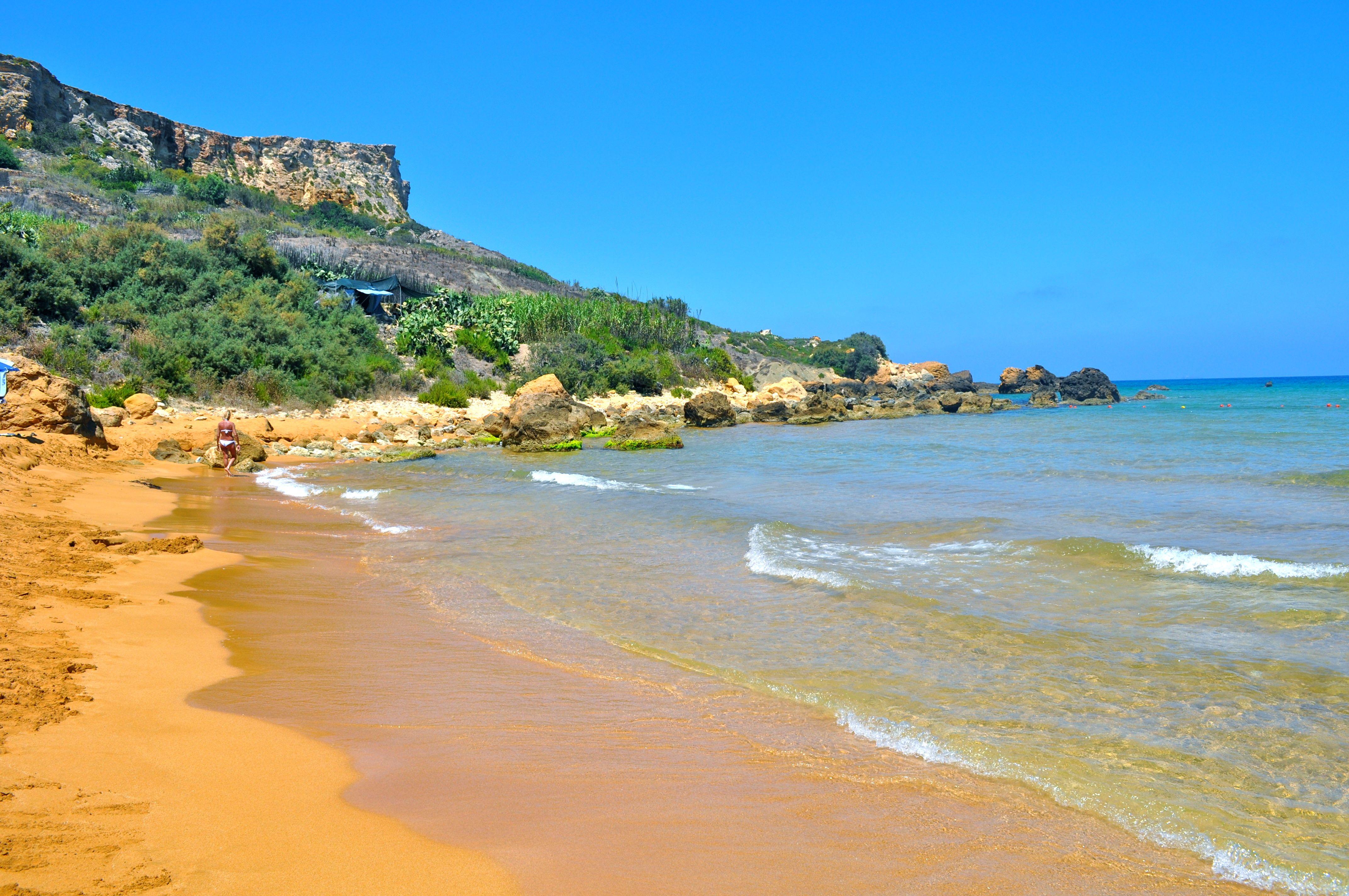 My favorite beach on the Island. San Blas Beach,Nadur