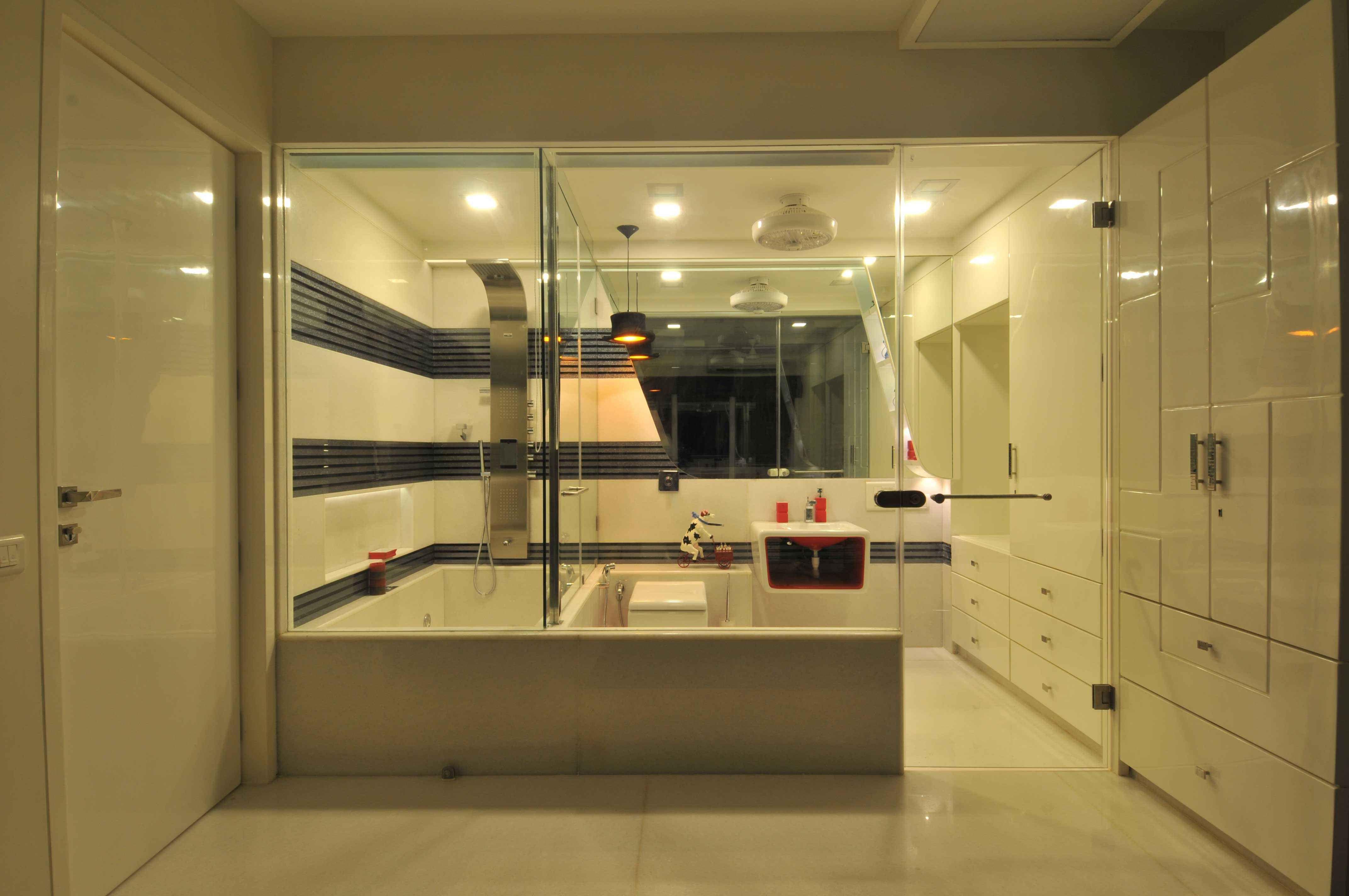 Master bathroom by sonali shah architect in mumbai for Bathroom designs mumbai