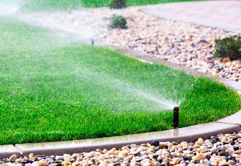 How To Winterize Your Sprinkler System Watering Grass Garden Irrigation System Lawn Sprinklers