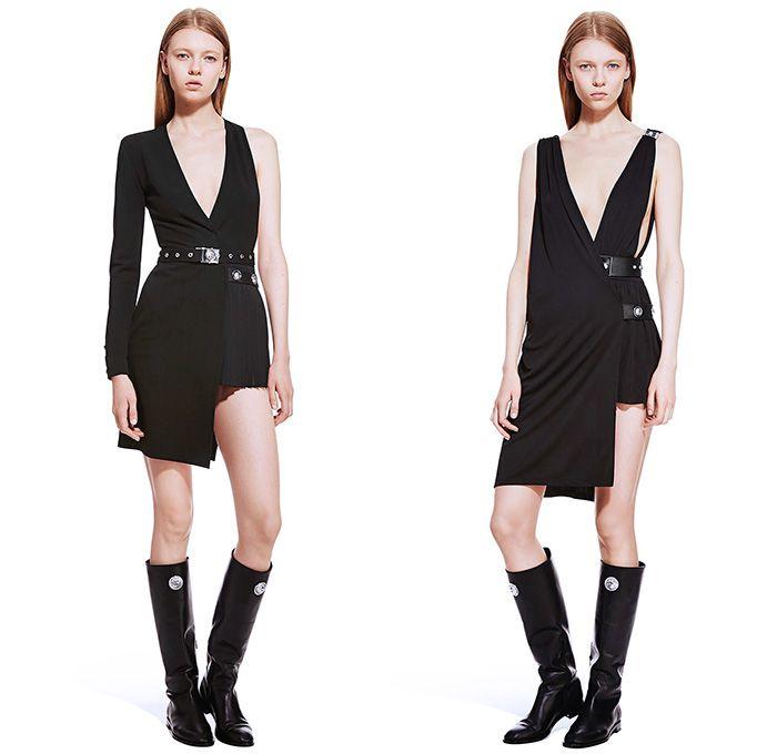 Asymmetric dress Versace Collection A2Sgb