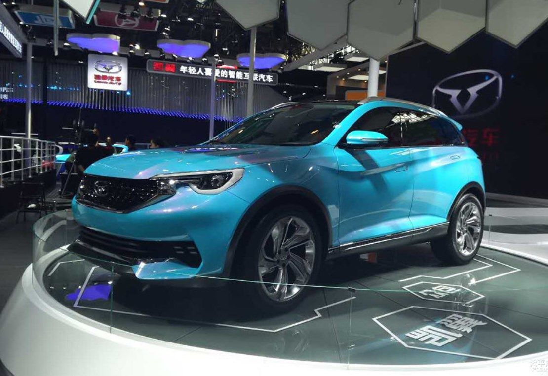 Cowin X5 SUV Chinese car, Concept cars