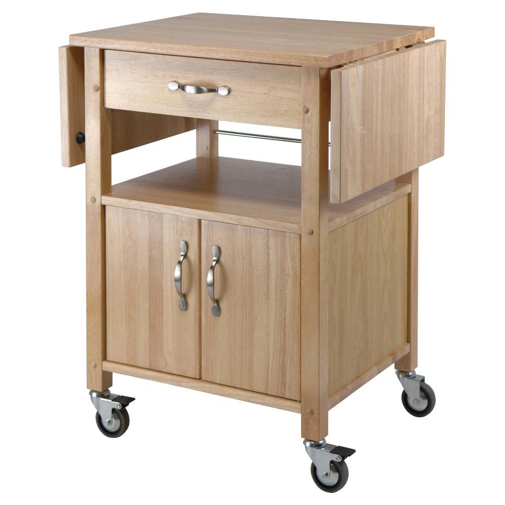 Rachael Kitchen Cart Beech Winsome Kitchen Cart Winsome