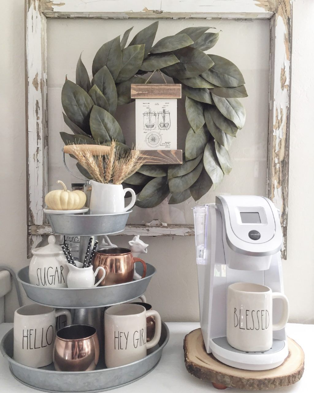 Amazing DIY Rae Dunn Display Ideas And Pictures 21