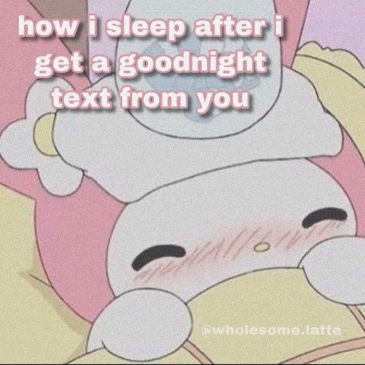 Wholesomes Cute Love Memes Goodnight Cute Cute Memes