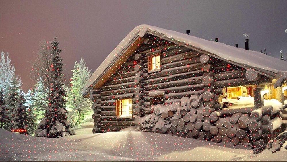 Outdoor Christmas Snowflake Lights