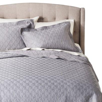 Target Fieldcrest® Luxury Silk Allure Quilt Set   Gray. Price Cut In Jan