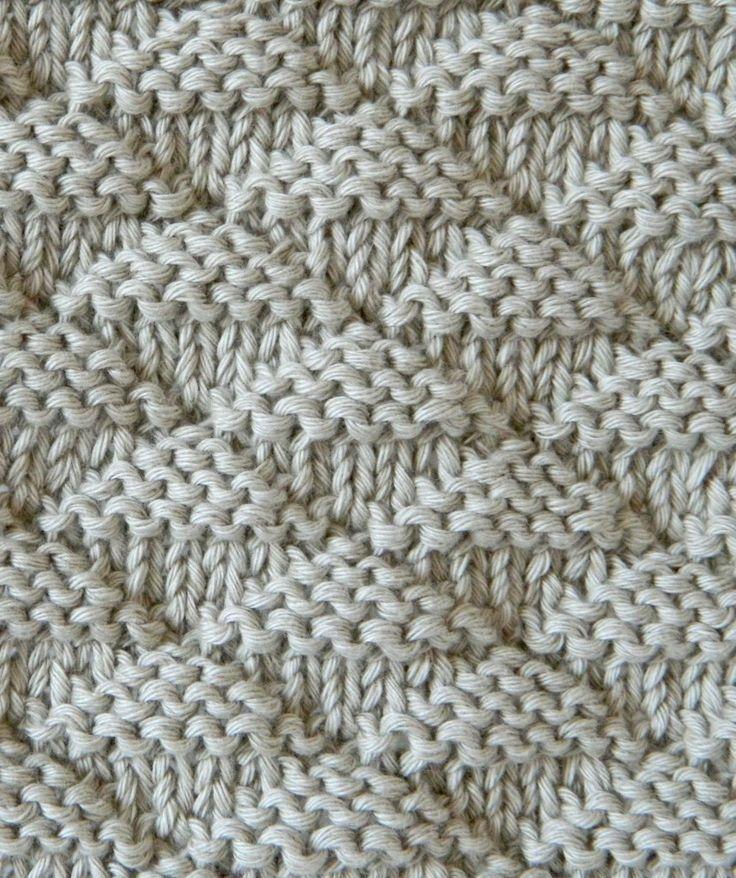 Photo of triangles stitch knitting pattern triangles knitting #Blog #knitting #Lana #patt…