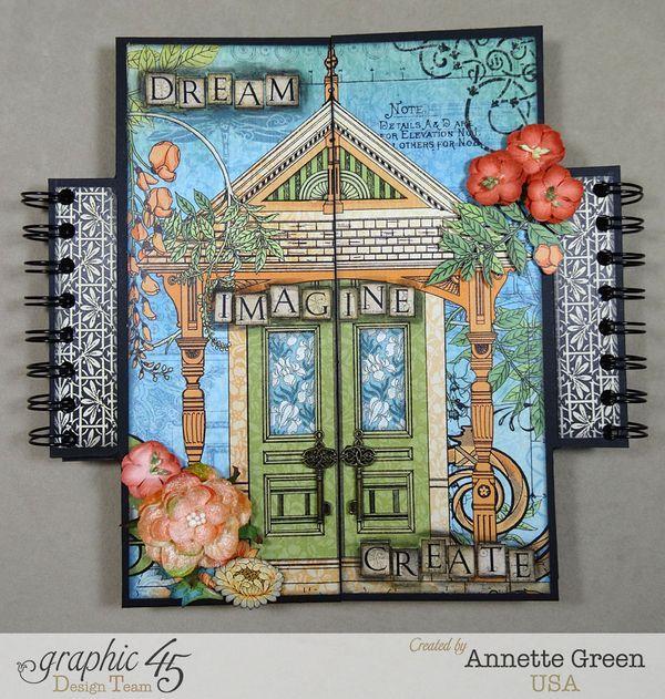 Dream Imagine Create Artisan Style Gatefold Album By Annette