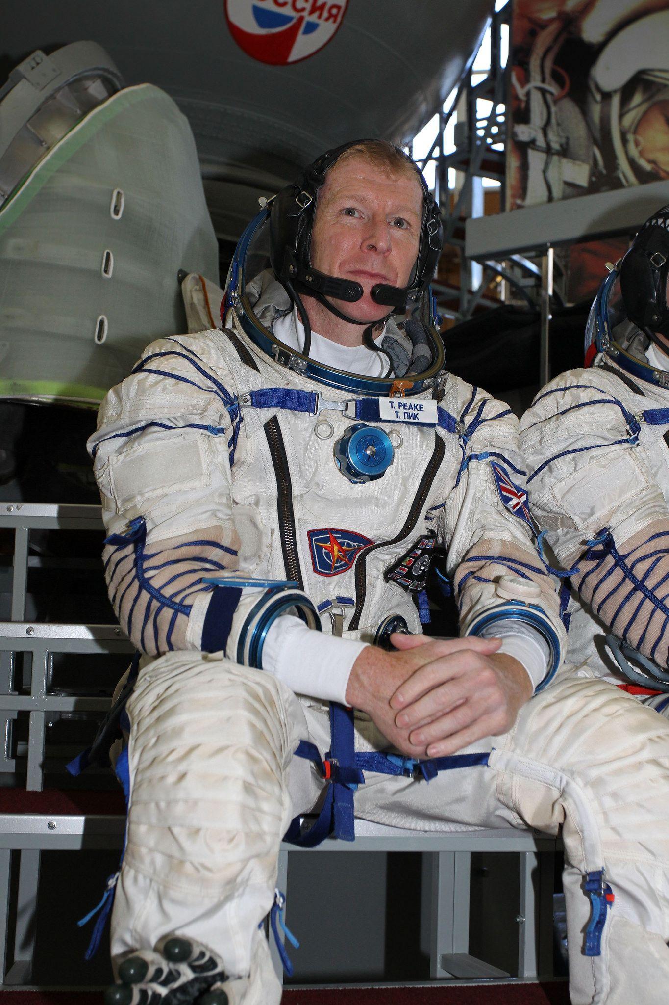 Backup Flight Engineer Timothy Peake