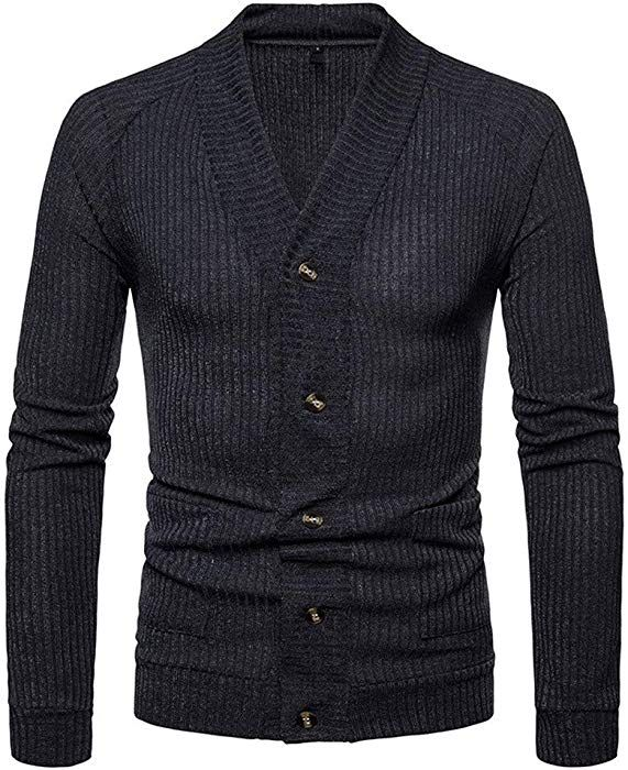 femme hot-vente plus récent vente au royaume uni Magiyard Pull Homme Automne Hiver Pull Mince Pull en Maille ...