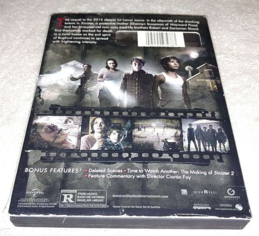 Sinister 2 Dvd 2016 Horror Halloween 25192272783 Ebay Ad Spon Dvd Sinister Horror Sinister Best Horror Movies Best Horrors
