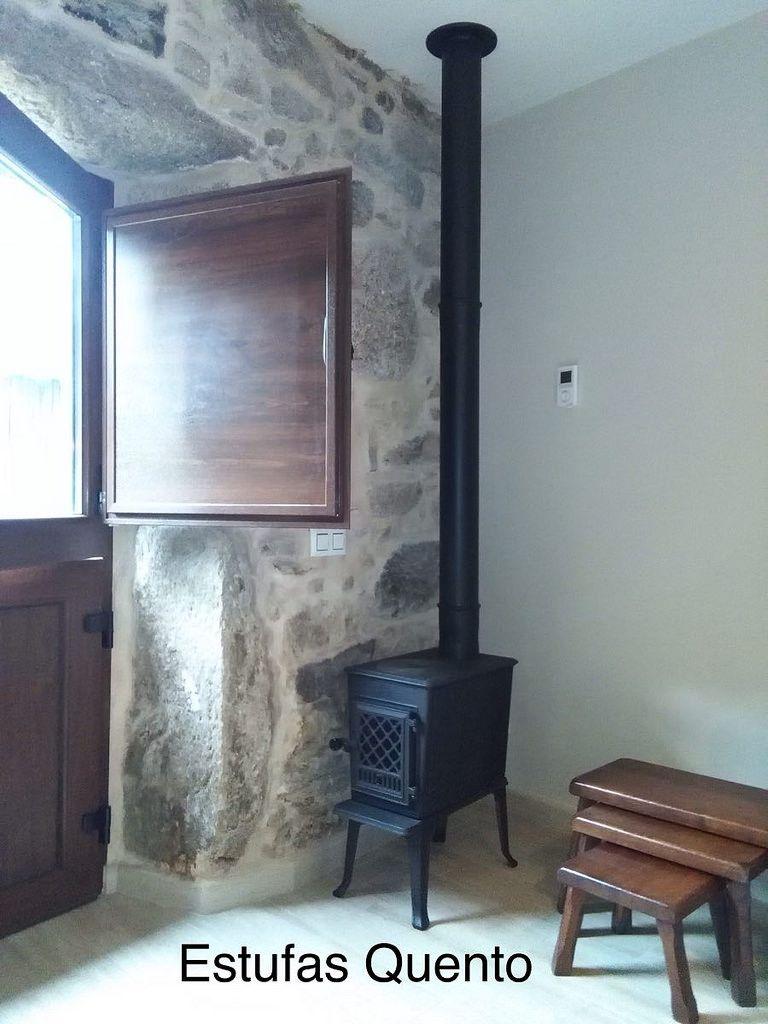 Estufa Jotul F 602 Small Wood Stove Interior Eclectic Design